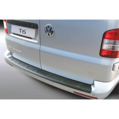 Protector parachoques trasero Volkswagen Transporter T6 Caravelle 9/2015- Ribbed